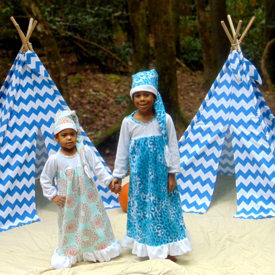 Aurora's Adorable Fleece Nightgown Sizes 2T to 14 Kids PDF Pattern