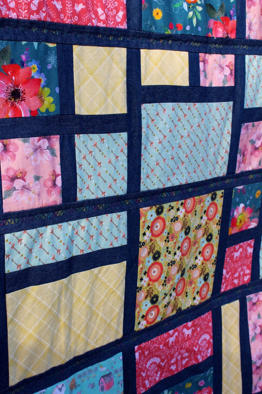 Paul's Stained Glass Quilt PDF Pattern