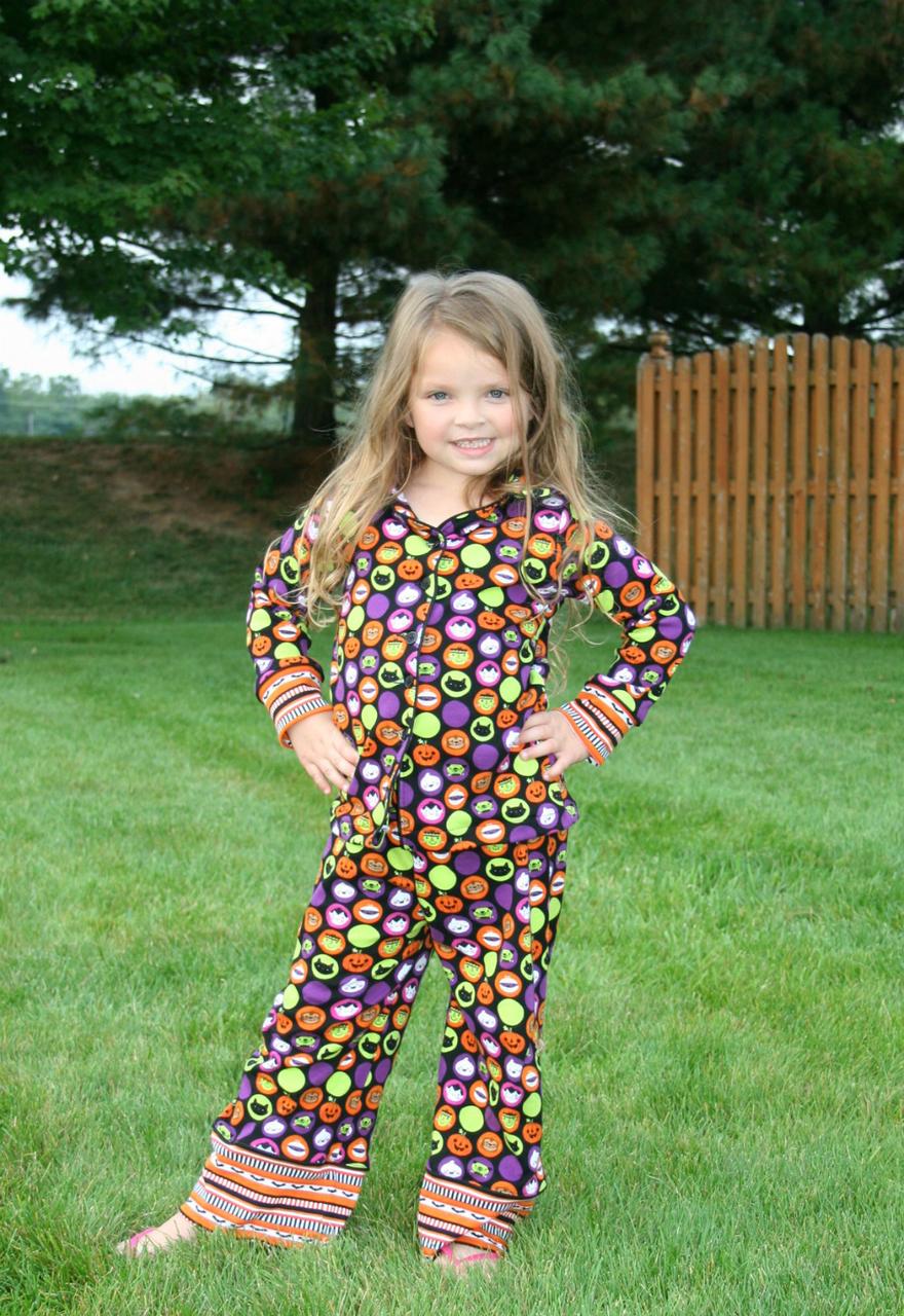 Orion's Pajama Set Sizes 2T to 14 Kids and Dolls PDF Pattern