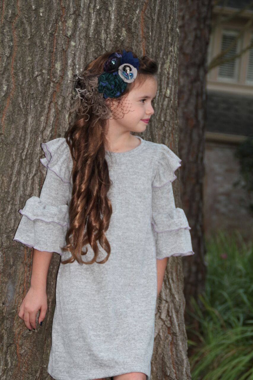 Nelda's Knit Dress and Top Sizes 2T to 14 Kids PDF Pattern