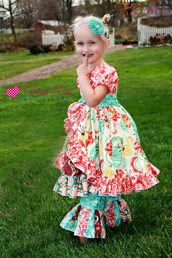 Shasta's Skirt Wrap and Apron Set Sizes 6/12m to 8 Kids PDF Pattern