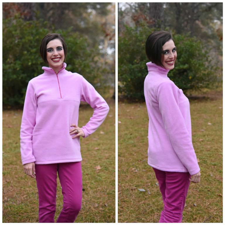 Lucas' Half-Zip Sweatshirt Sizes XXS to 4X Adults  PDF Pattern