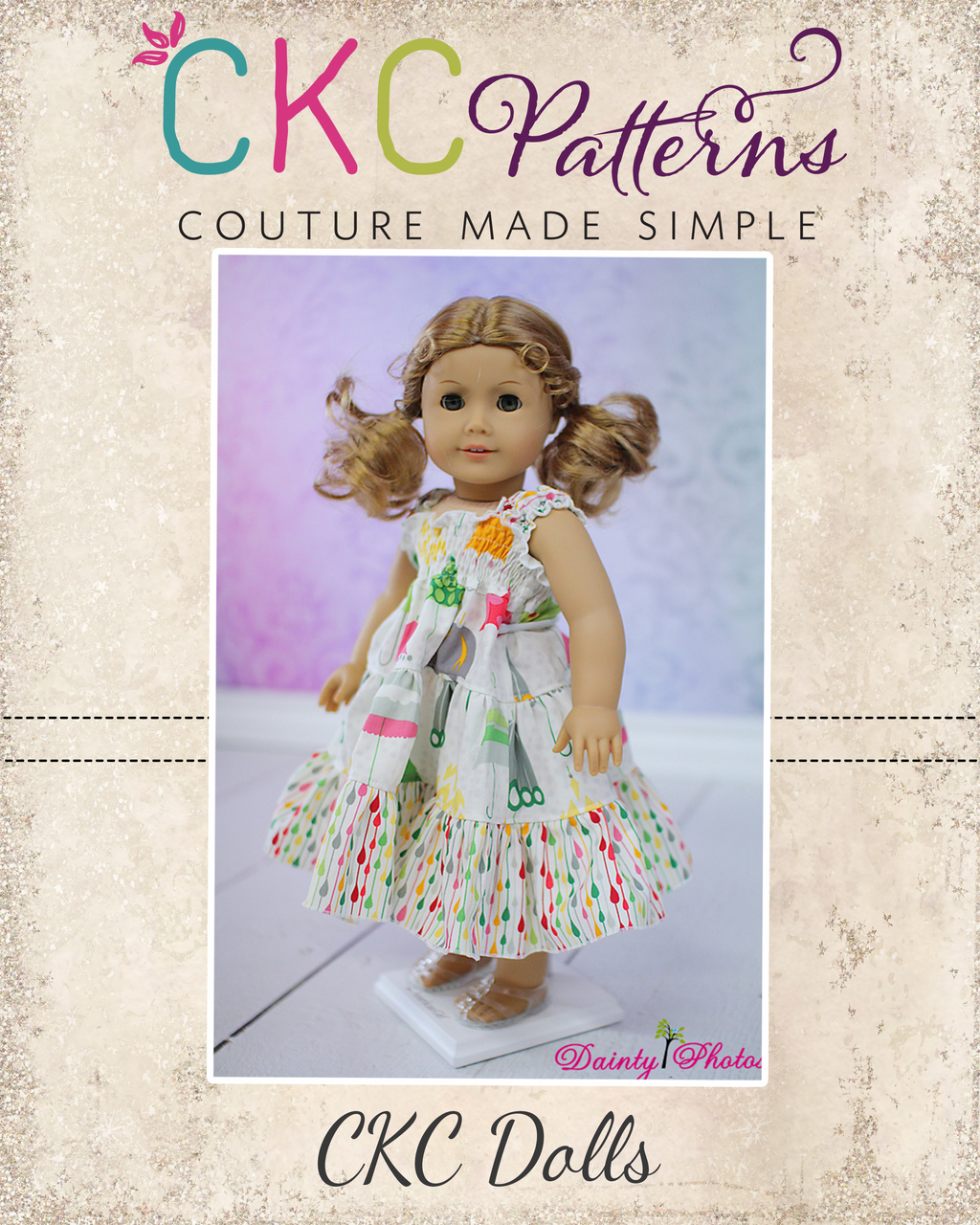 """18"""" Doll pattern pack 3 with 5 PDF Patterns"""