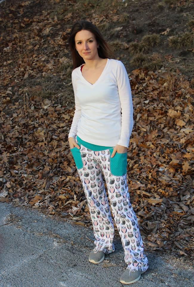 Venus' Lounge Pants Sizes XXS to 3X Adults PDF Pattern