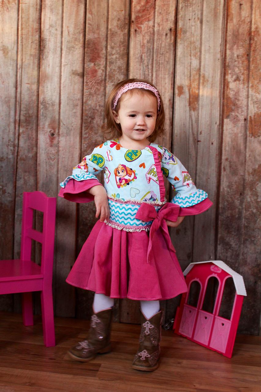 Legacy's Little Lady Dress Sizes 2T to 8 Kids PDF Pattern