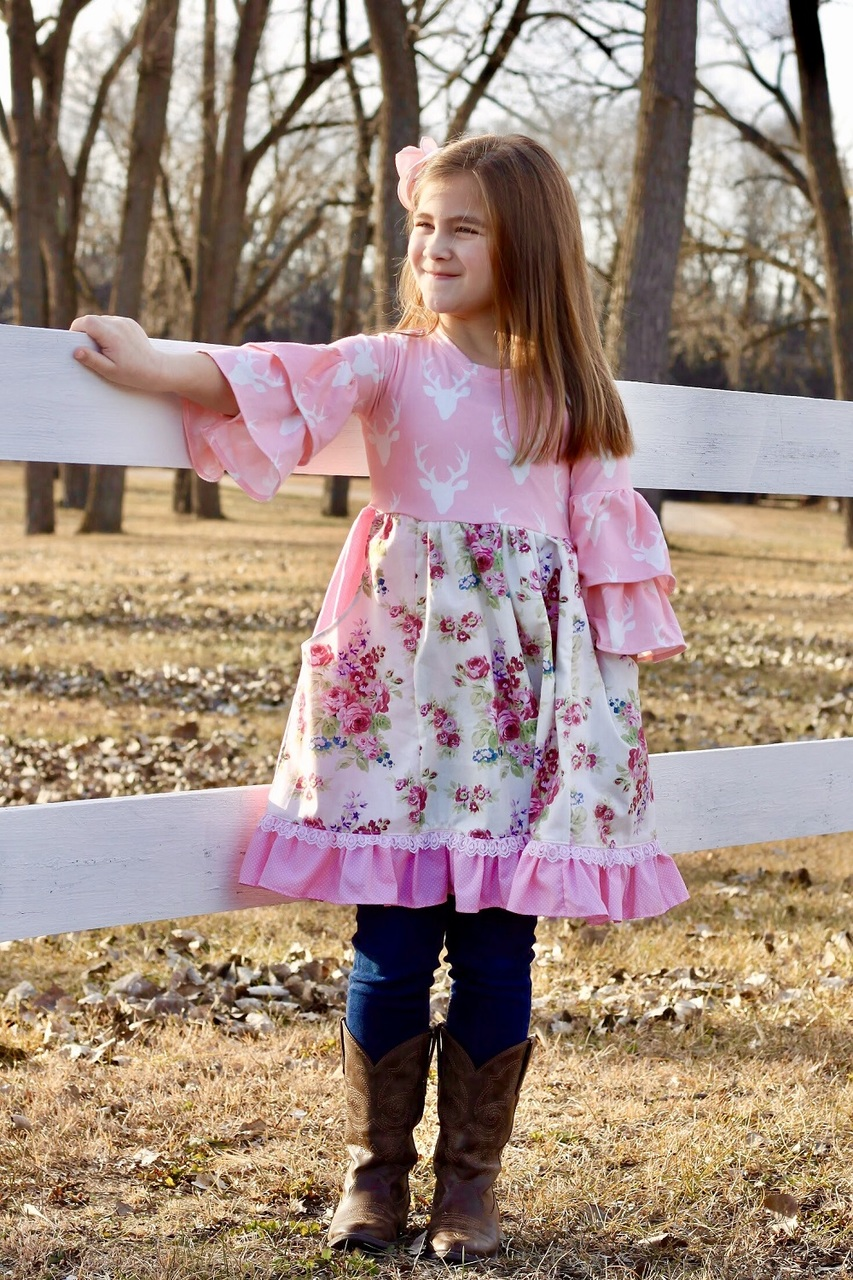 Eden's Everything Dress Sizes 2T to 14 Kids PDF Pattern