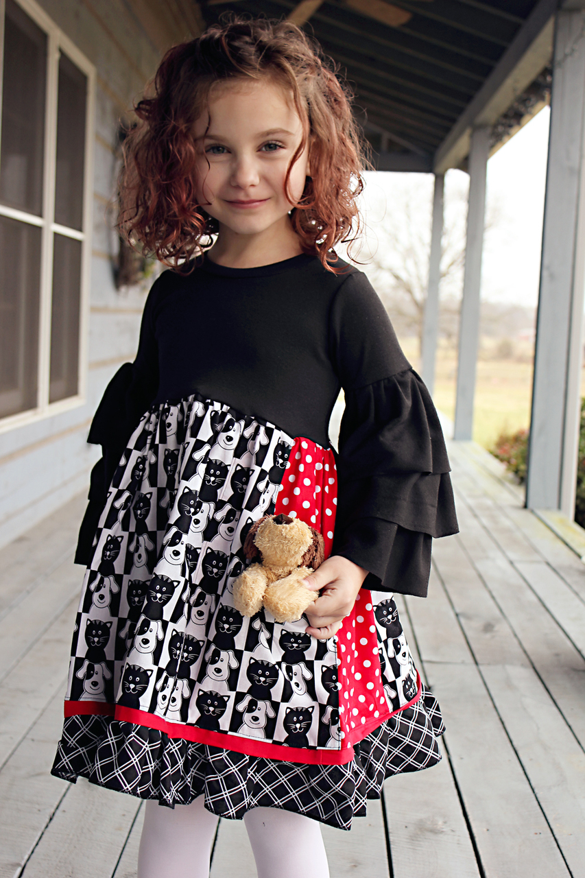 Eden's Everything Dress Sizes 2T to 14 Kids PDF Pattern