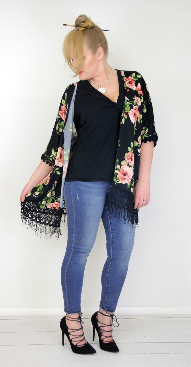 Kendra's Kimono Sizes XXS to 3X Adults PDF Pattern