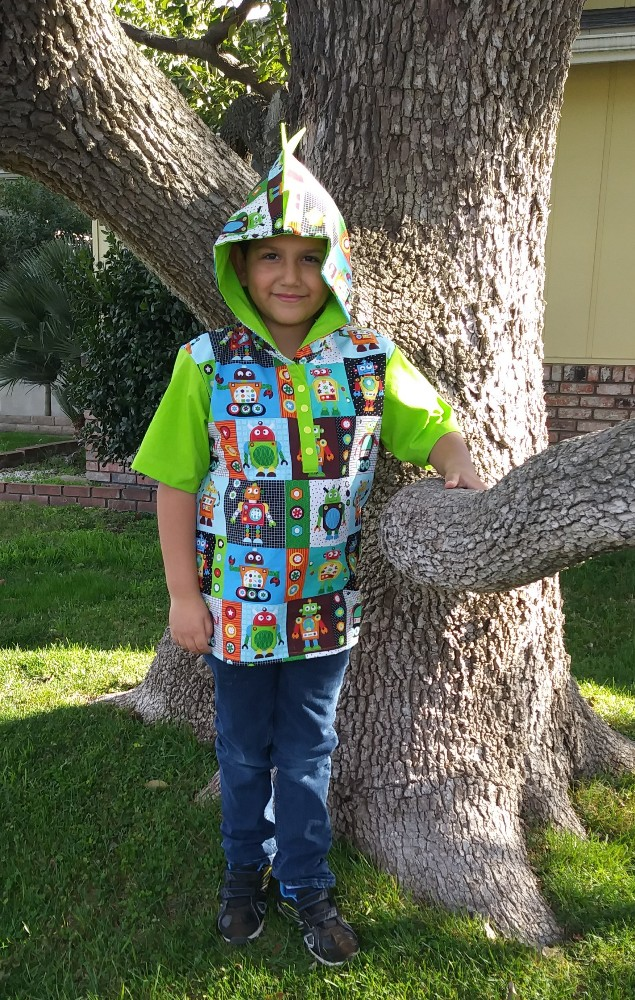 Aaron's Hooded Woven Shirt PDF Pattern