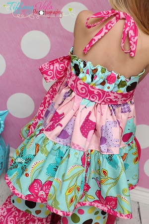 Paired with Brianna's Tiered Ruffle Pants