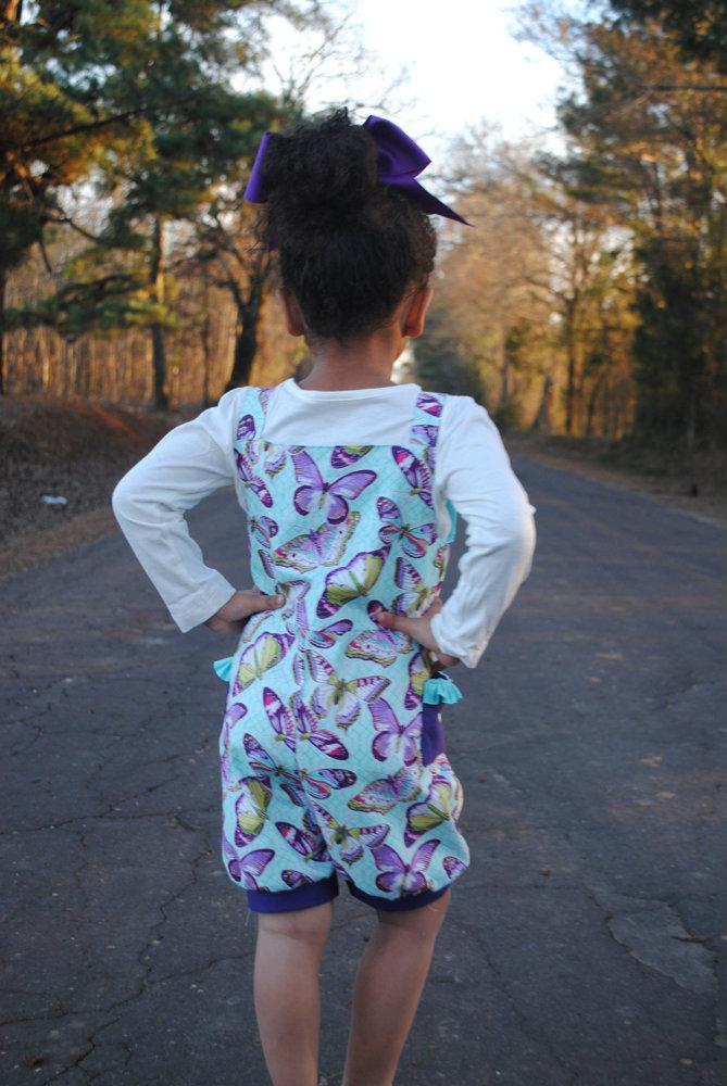 Desirae's Romper Sizes NB to 8 Kids and Dolls PDF Pattern