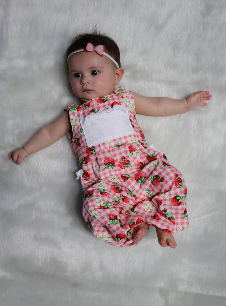 Desirae's Romper Sizes NB to 8 Kids and Dolls PDF Pattern