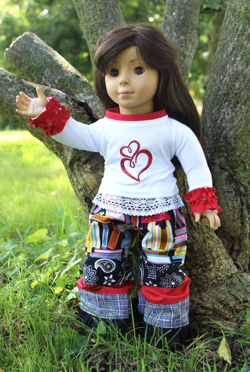 Rainey and Channing Doll Sizes PDF Pattern