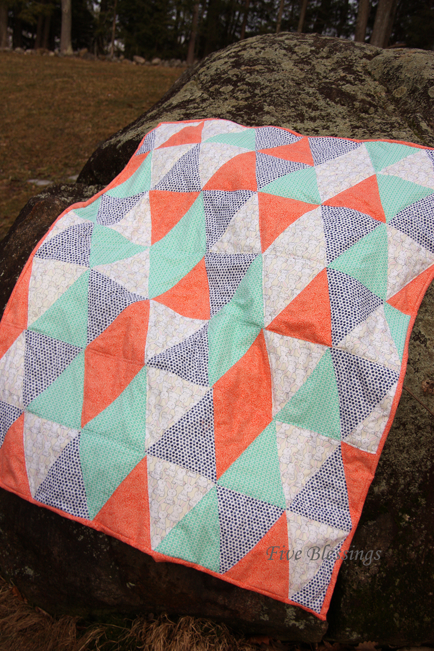 Tracey's Triangle Quilt PDF Pattern