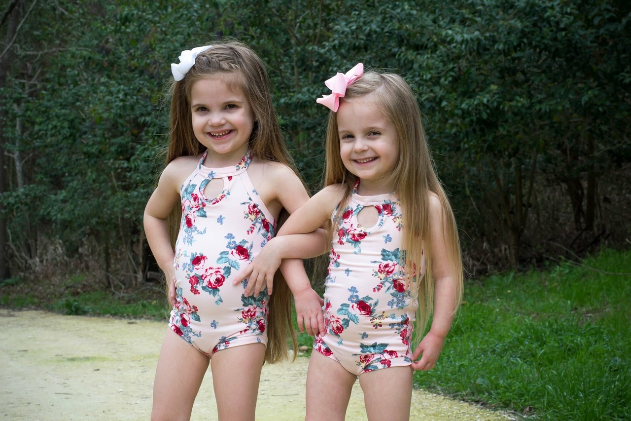 Qiana's Keyhole Leotard Sizes 2T to 14 Kids PDF Pattern
