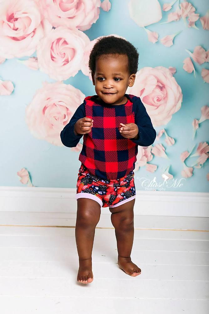 Dallin's Shorties Sizes NB to 5T Kids PDF Pattern