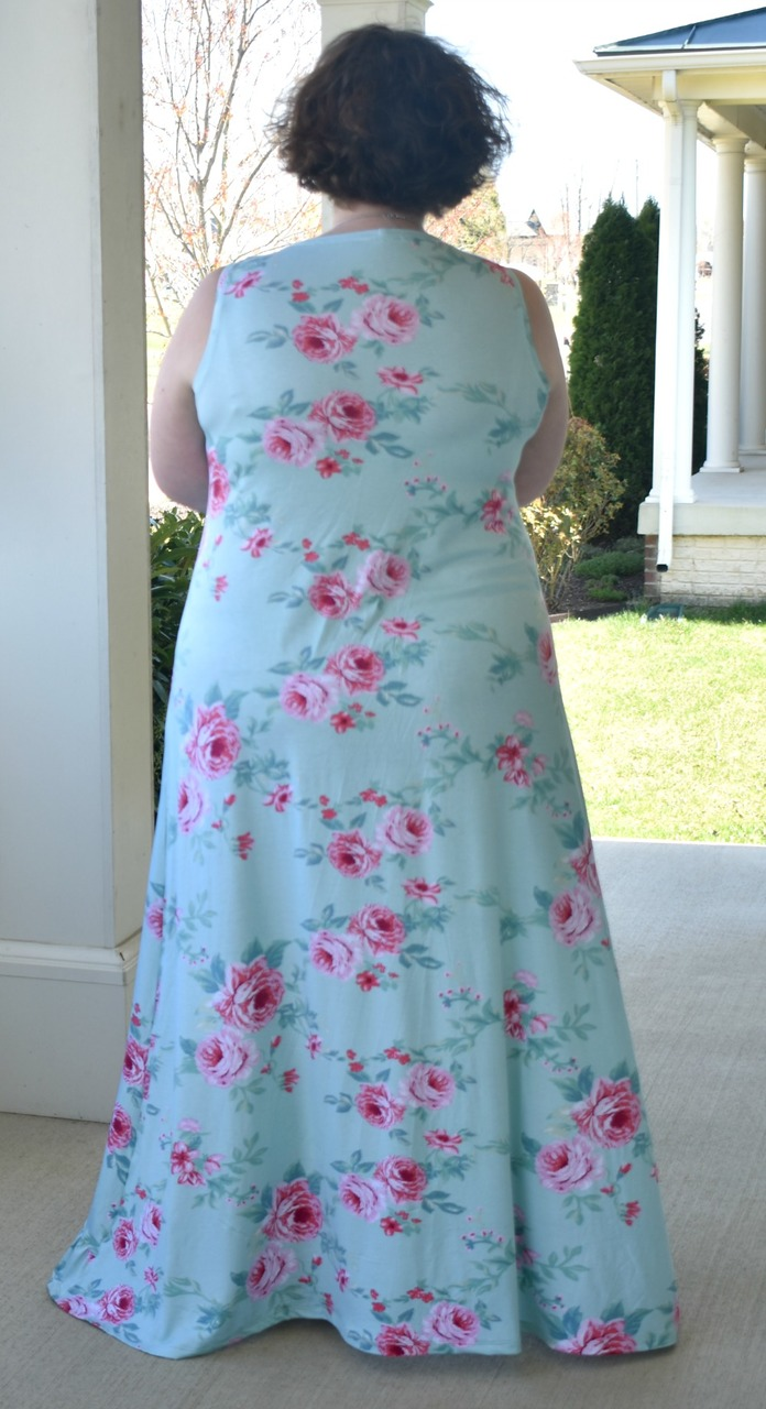 Holland's High-Low Dress Sizes XXS to 3X Adults PDF Pattern