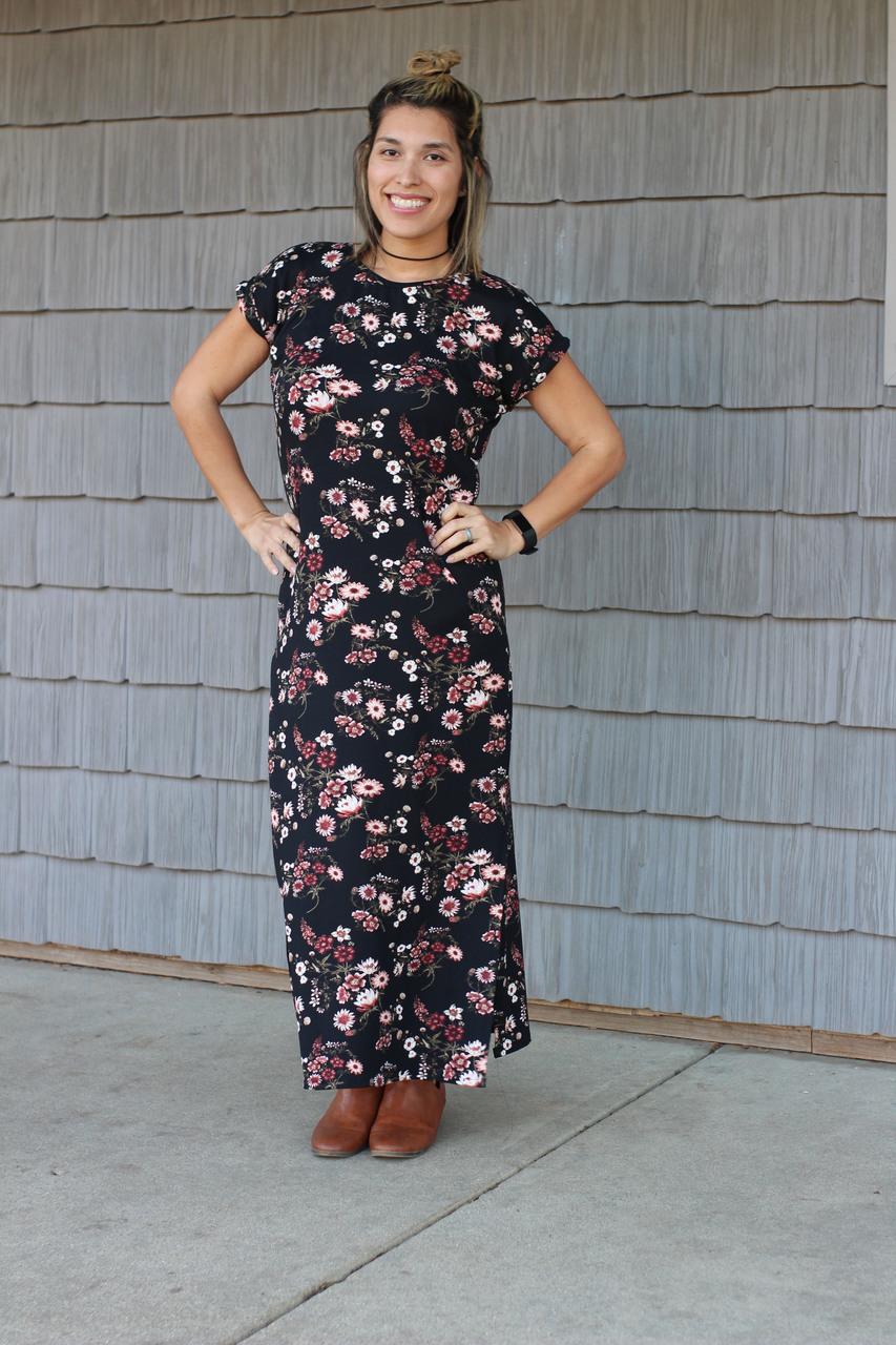 Dana's Dolman Top, Dress, and Maxi Sizes XXS to 4X Adults PDF Pattern