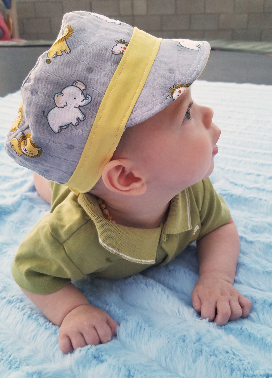 Rue's Cadet Cap Sizes Babies to Adult PDF Pattern