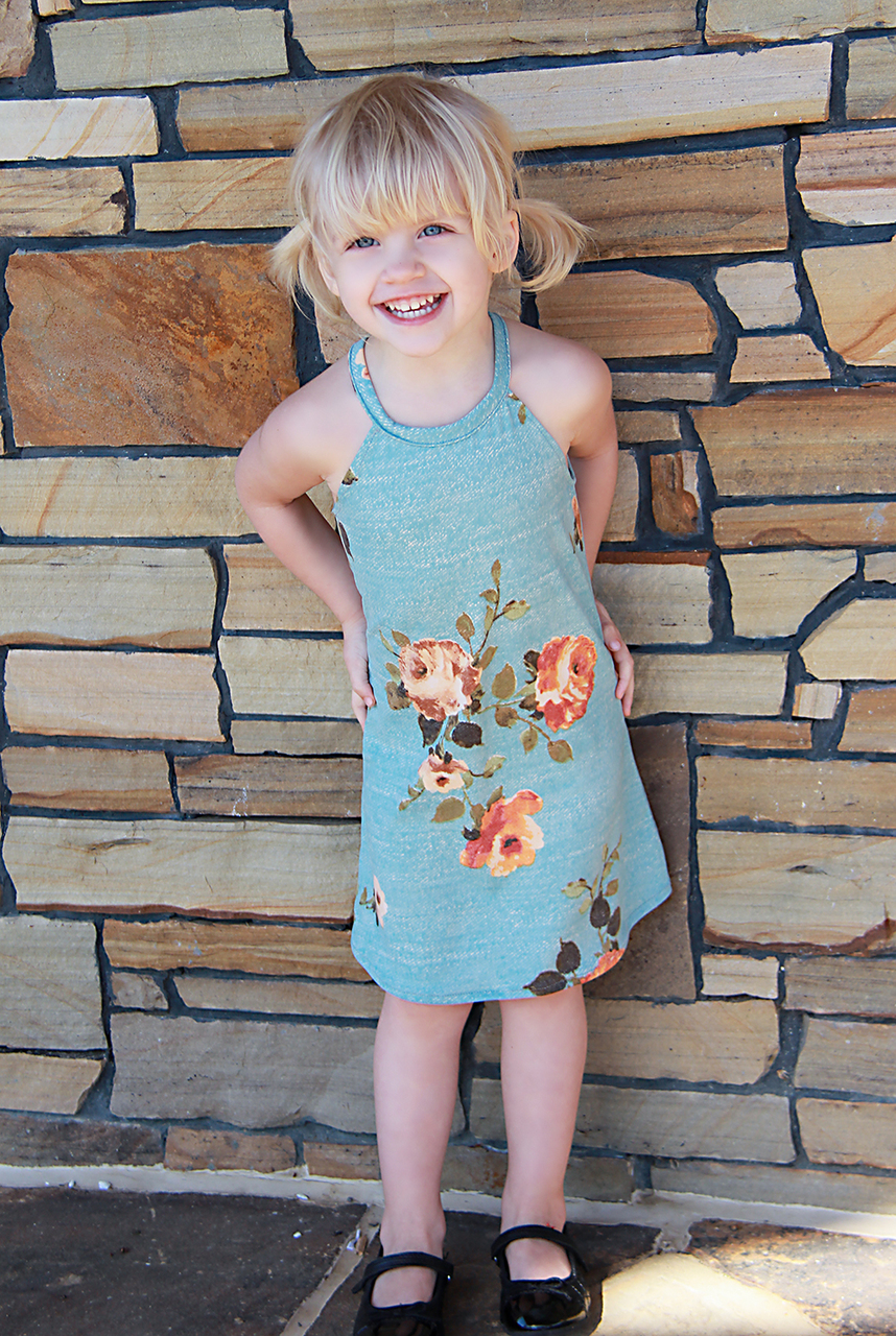 Kaitlyn's Tank Top and Dress Sizes 2T to 14 Kids PDF Pattern