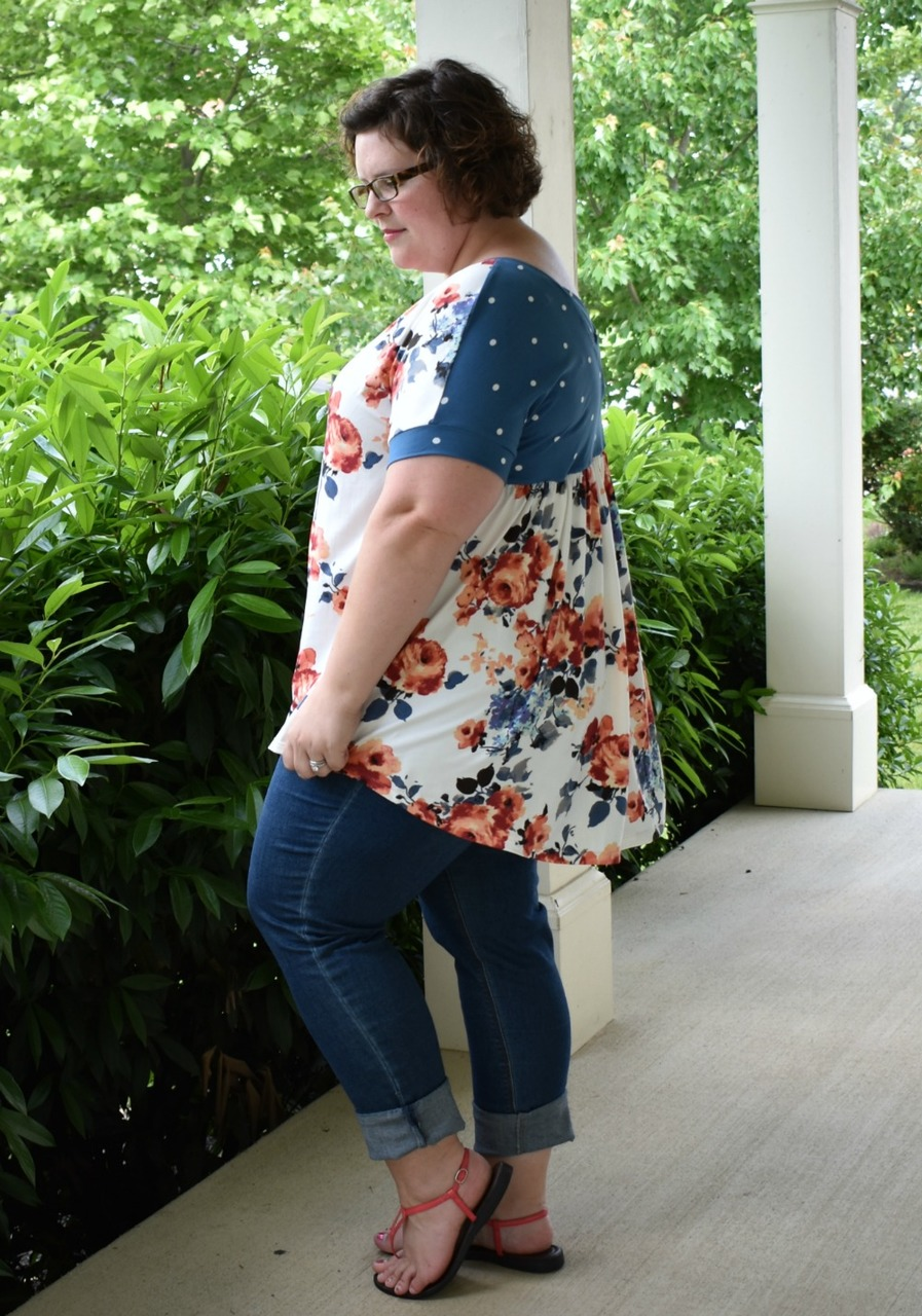 Tina's Top and Tunic Sizes XXS to 3X Adults PDF Pattern