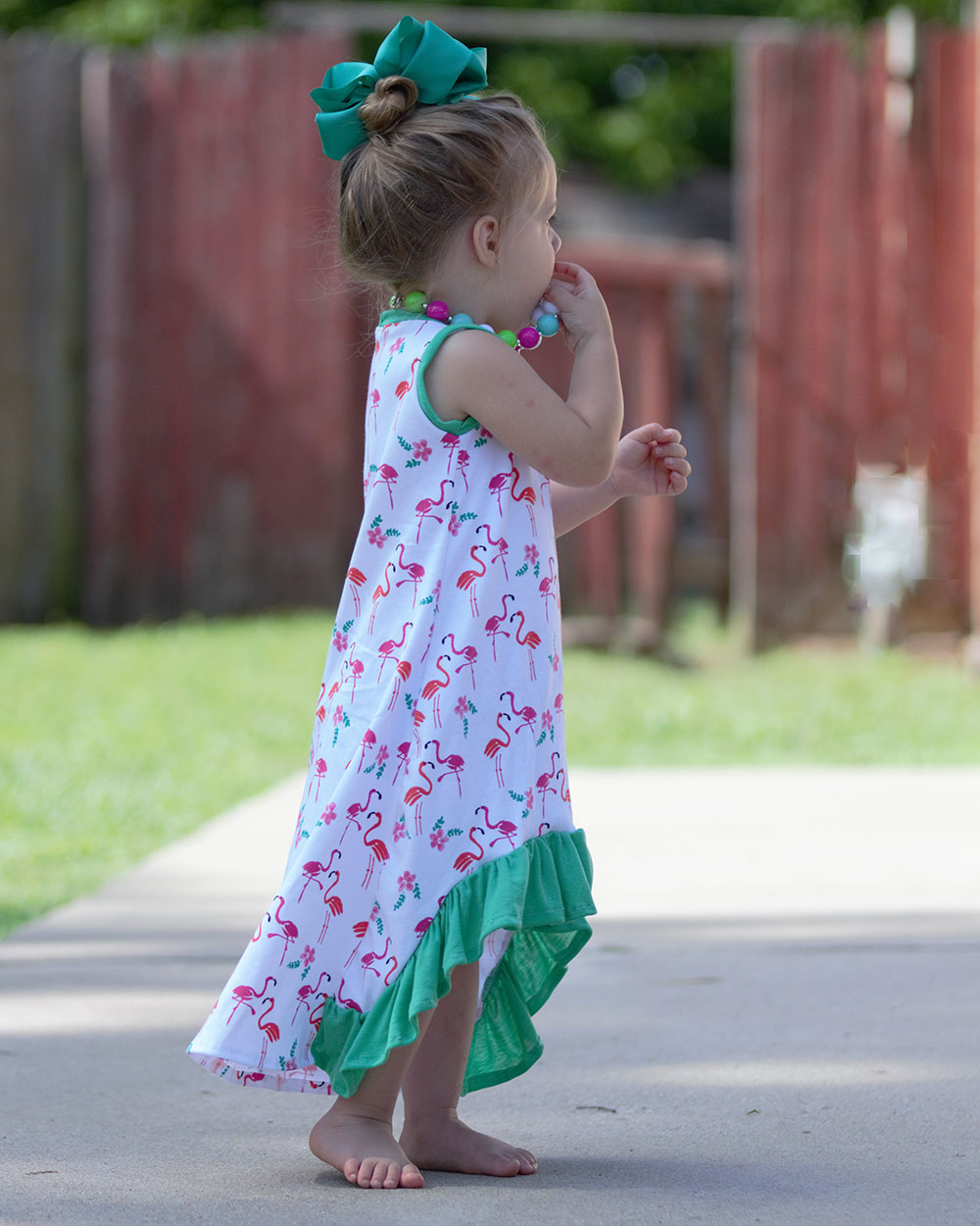 Holland's High-Low Dress Sizes 2T to 14 Kids PDF Pattern