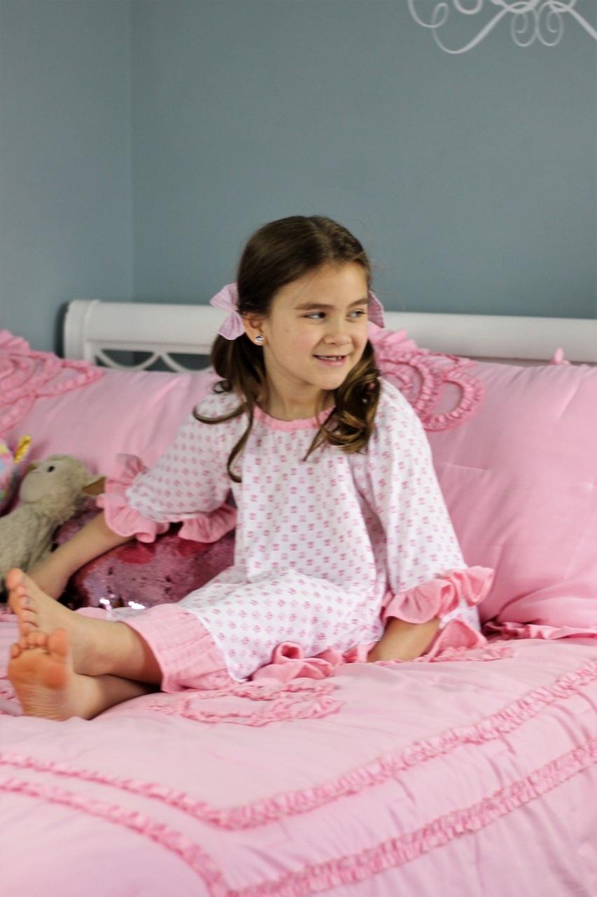 Lantana's Pajama Set Sizes 2T to 14 Kids PDF Pattern