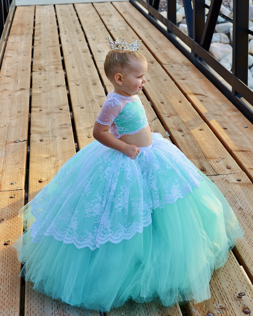 Lavender's Lavish Formal Skirt Sizes 2T to 14 Kids PDF Pattern