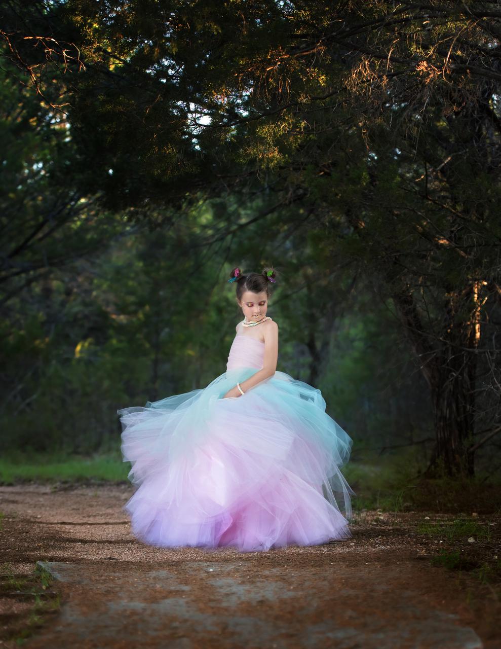 Lavender's Lavish Formal Skirt Sizes 2T to 14 Kids PDF Pattern