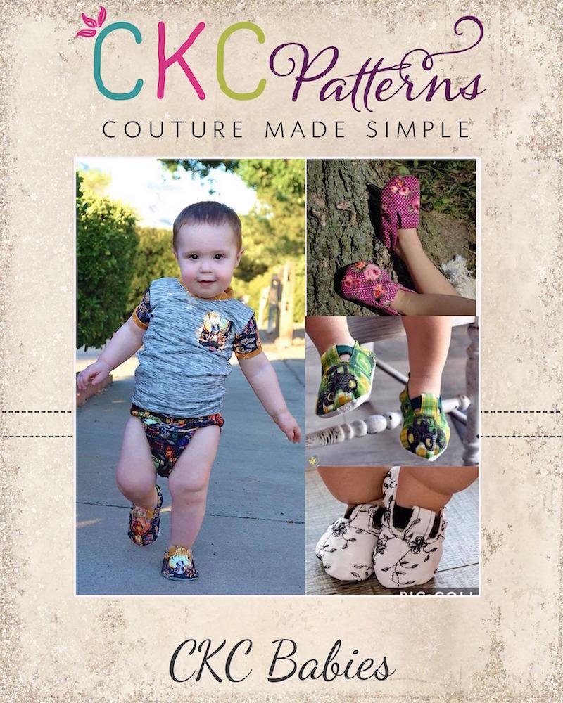 Gaga's Babies Shoes PDF Pattern
