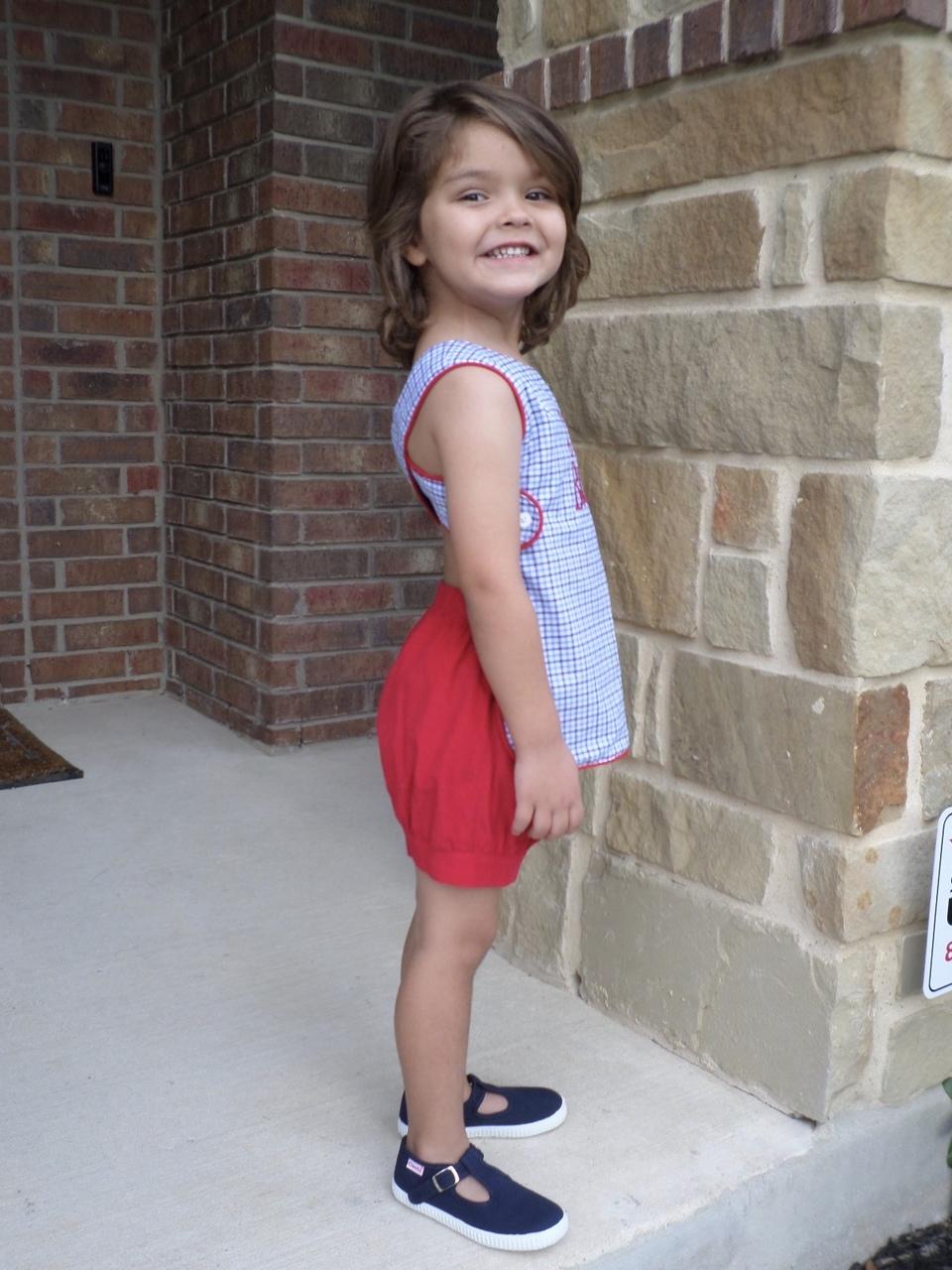 Jordan's Smock Sizes 0/6m to 6-8 Kids PDF Pattern
