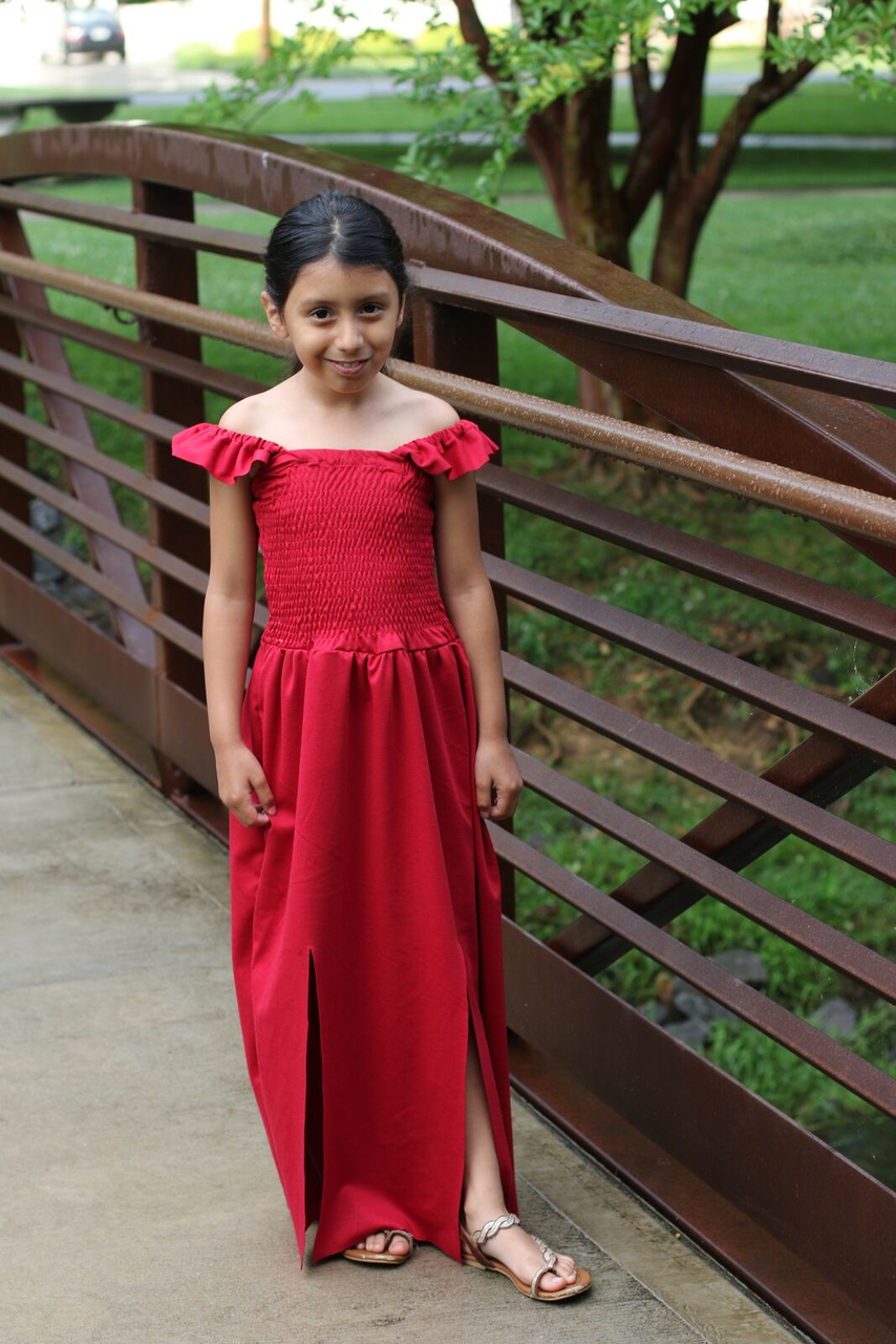 Patience's Dress and Maxi Sizes 2T to 14 Kids PDF Pattern
