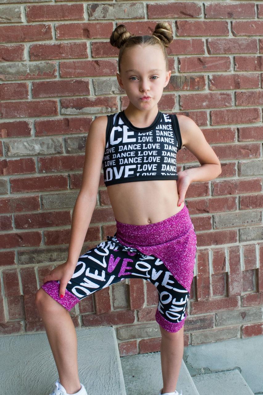 Harvey's Harem Shorties Sizes 2T to 14 Kids PDF Pattern