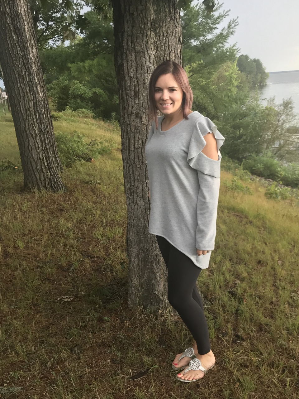 Jayla's Cold Shoulder Tunic Sizes XXS to 3X Adults PDF Pattern
