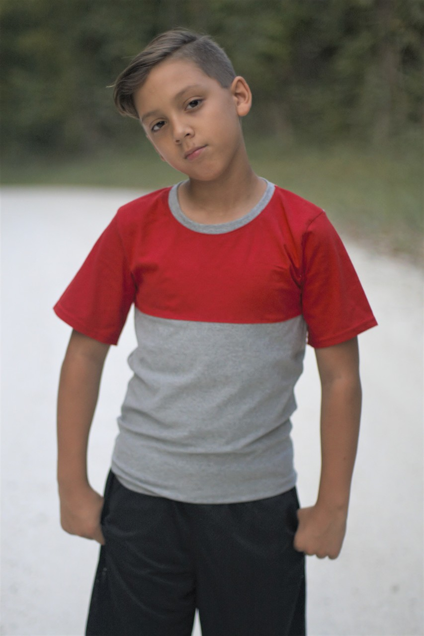 Malachi's Color Block Tee Sizes 2T to 14 Kids PDF Pattern