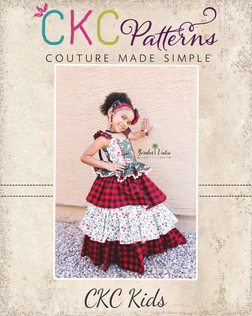Genne's Triple Ruffle Party Skirt Sizes 2T to 14 Kids and Dolls PDF Pattern