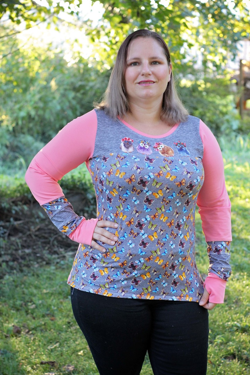 Tierney's Detailed Top and Dress Sizes XXS to 3X Adults PDF Pattern