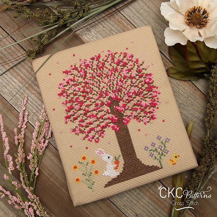 "4 Seasons ""Spring"" Cross Stitch PDF Pattern"