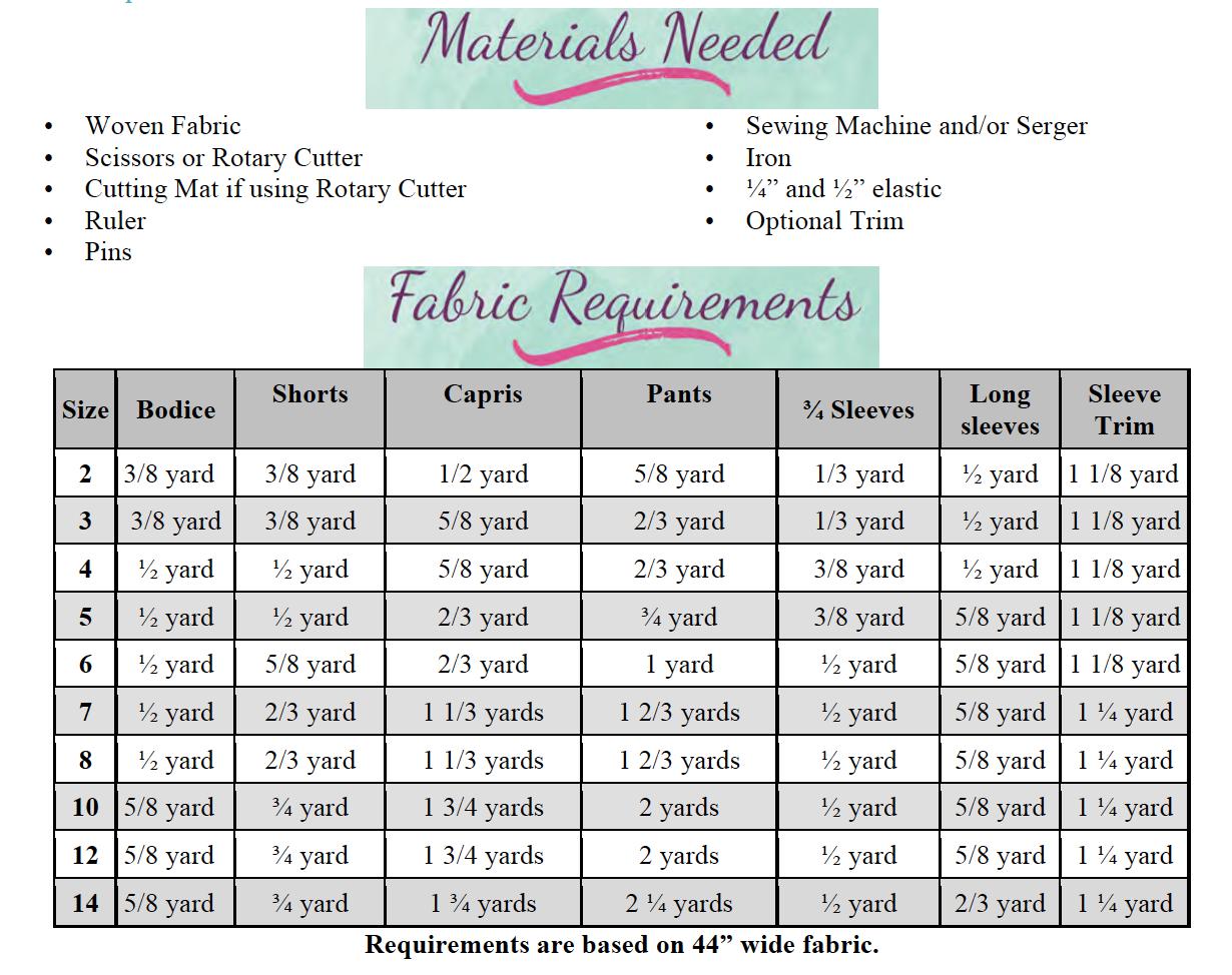 Mercy's Boho Romper Sizes 2T to 14 Kids PDF Pattern