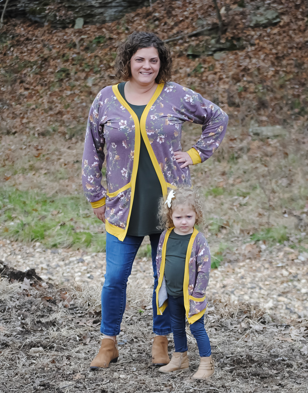 Emmalyn's Cardigan Sizes XXS to 3X Adults PDF Pattern