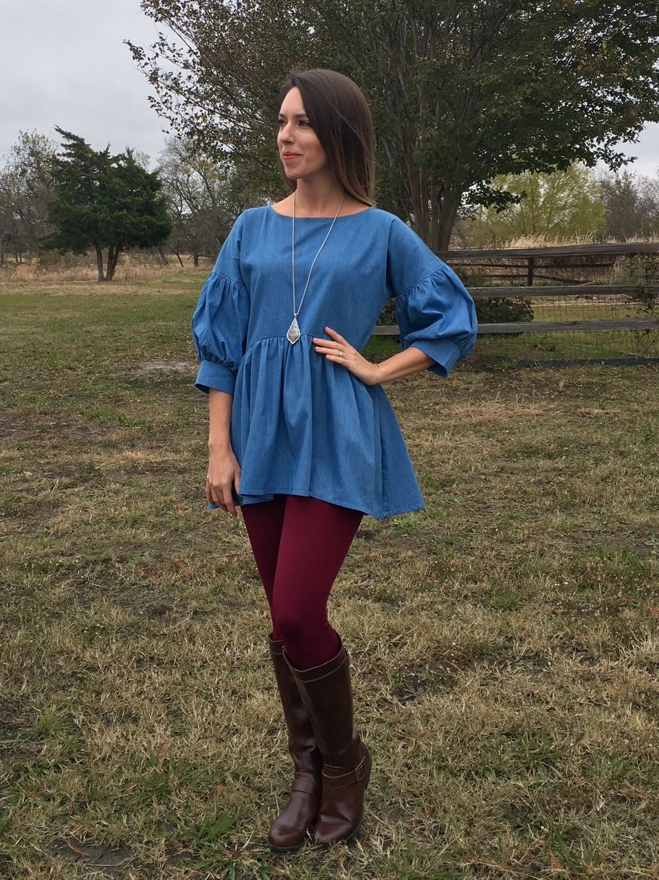 Karen's Woven and Knit Top, Tunic and Dress  Sizes XXS to 3X Adults PDF Pattern