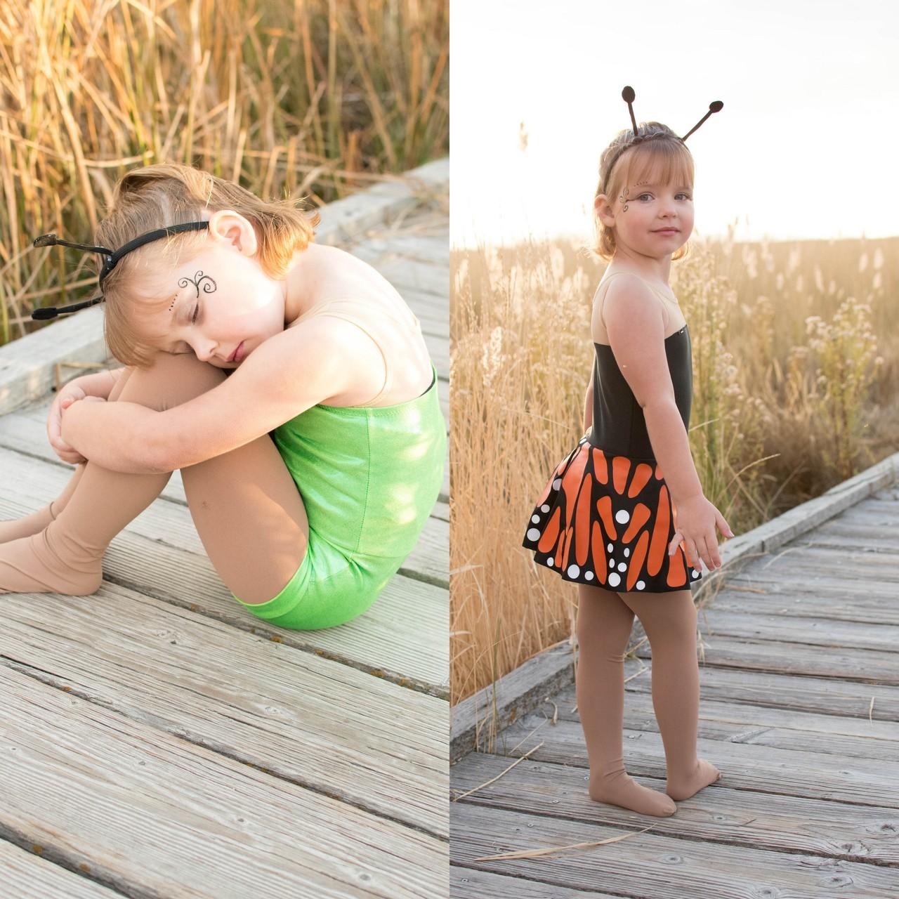 Monarch's Transition Dress Sizes 2T to 14 Kids PDF Pattern