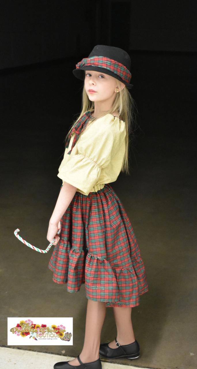 Oona's Keyhole Peasant Dress Sizes 2T to 14 Kids PDF Pattern