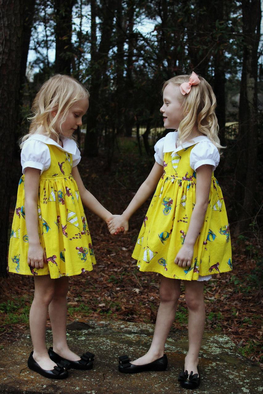 Marlowe's Vintage Dress and Pinafore Sizes NB to 14 Kids PDF Pattern