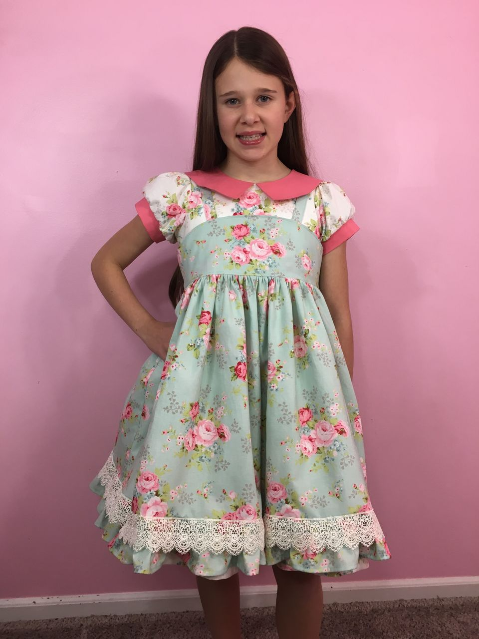Marlowe's Vintage Dress and Pinafore Sizes NB to 14 Kids PDF Pattern