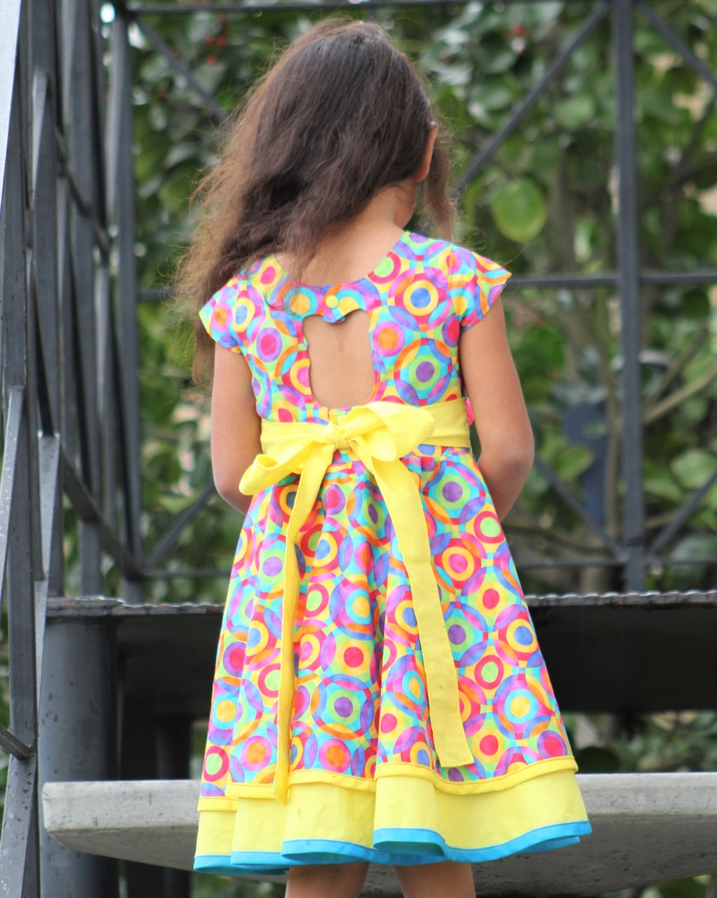 Sheena's Double Circle Dress and Tunic Sizes 2T to 14 Kids PDF Pattern