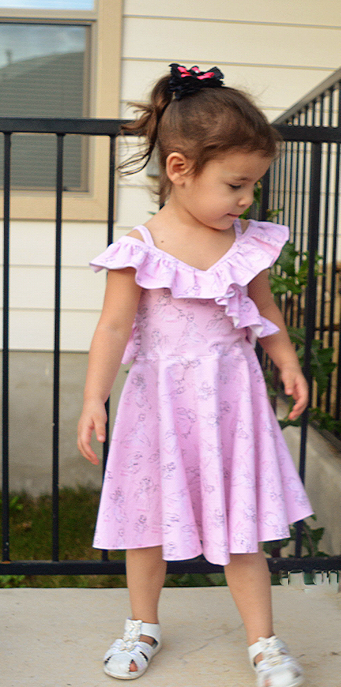Boardwalk Summer Dress and Top Sizes 2T to 14 Kids PDF Pattern