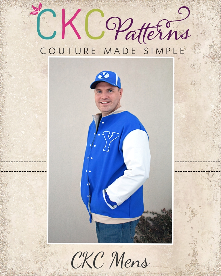 Brock's Letterman Jacket Sizes XXS to 4X Adults PDF Pattern
