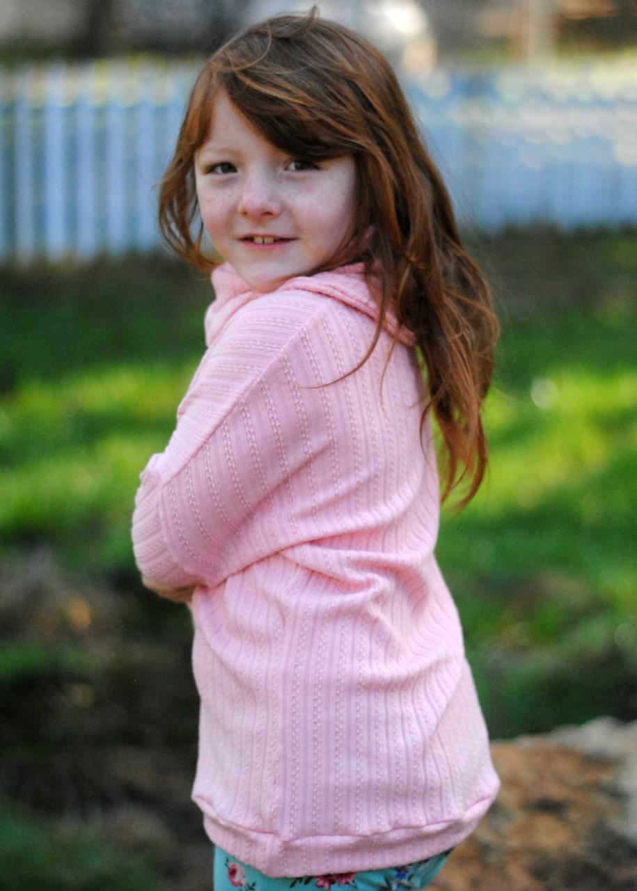 Jemima's Balloon Sleeve Top Sizes 2T to 14 Kids PDF Pattern
