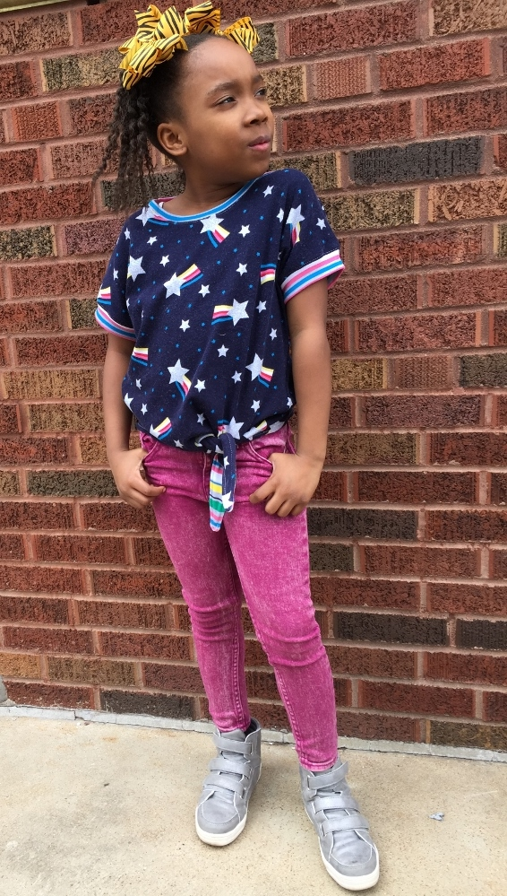 Kenna's Knotted Top Sizes 2T to 14 Kids PDF Pattern